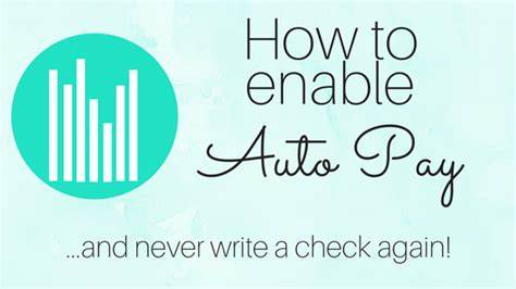 How to enable Auto Pay